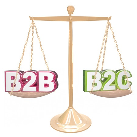 interact online marketing b2b vs b2c